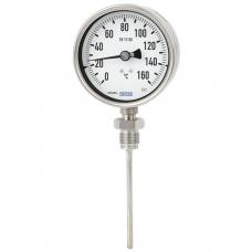 Биметаллический термометр Модель 55, высококачественная промышленная версия