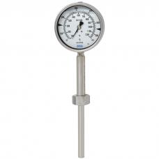 Манометрические термометры, применение в условиях высоких вибраций модель 75,