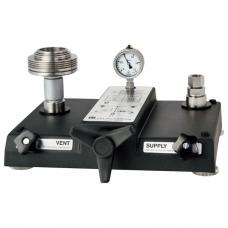 Пневматический грузопоршневой манометр CPB3500 (погрешность 0,006% - 0,015% от измеренного значения).
