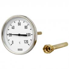 Биметаллический термометр WIKA А50