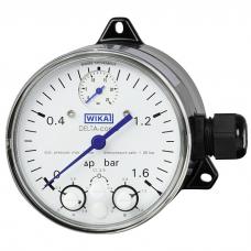Маномет дифференциального давления WIKA DPGS40 с микропереключателем